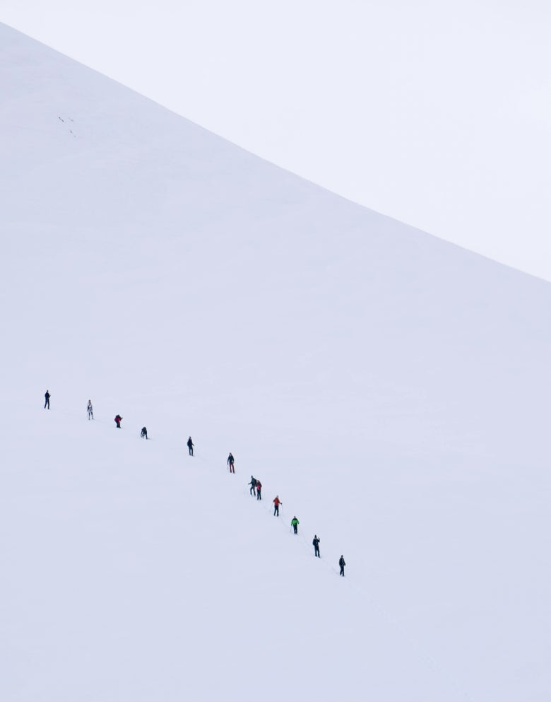 Image of Antarctic Mountaineers