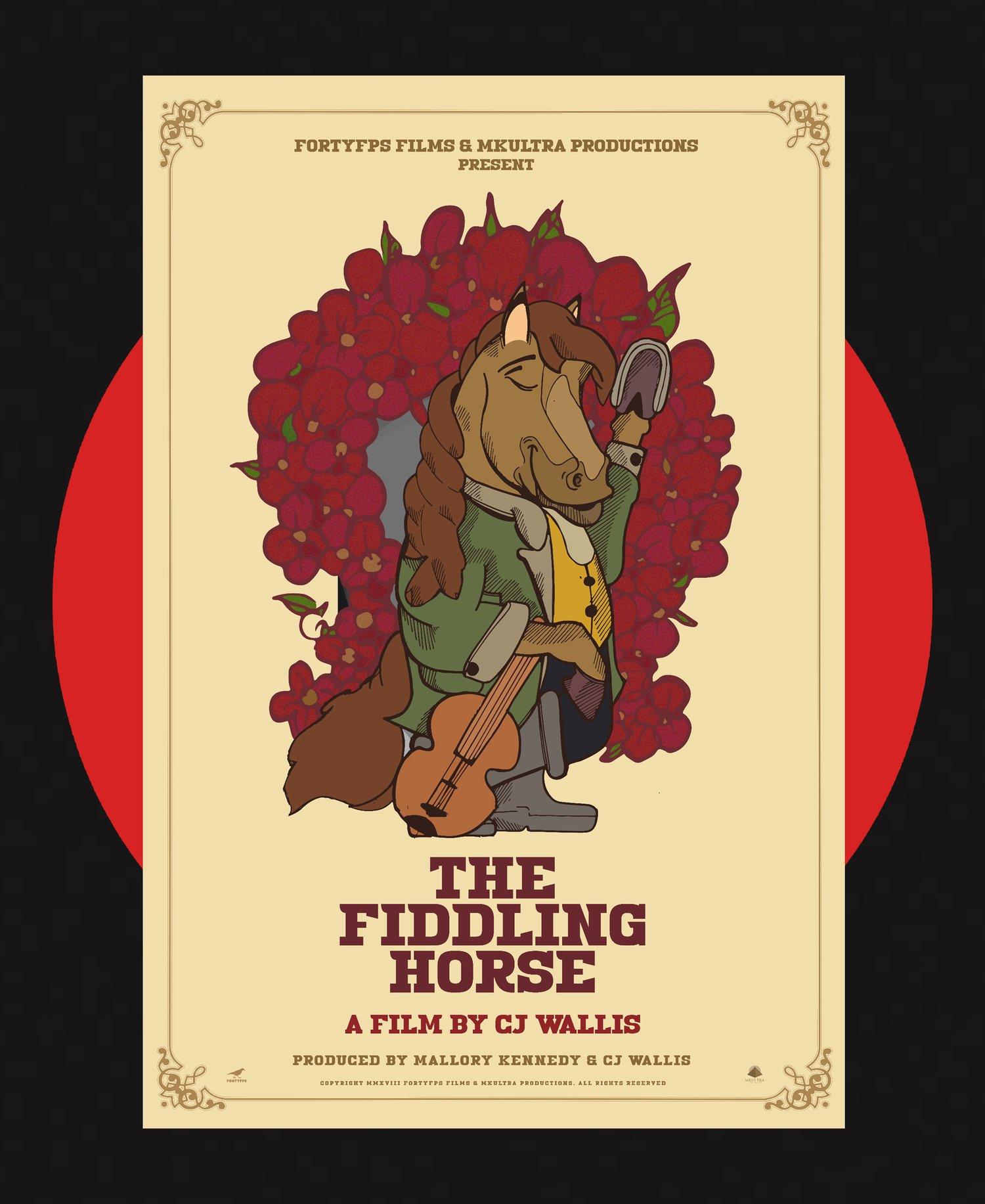 Image of THE FIDDLING HORSE - TEASER POSTER