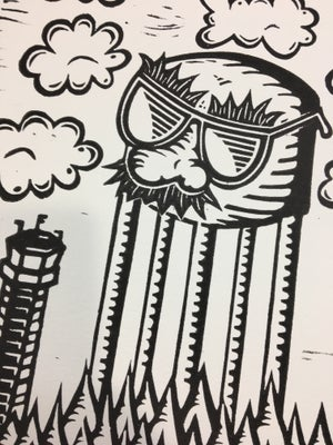 Image of Towers of IT (Line Art)