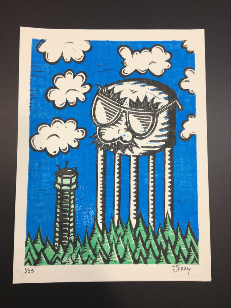 Image of Towers of IT (Canvas Paper)