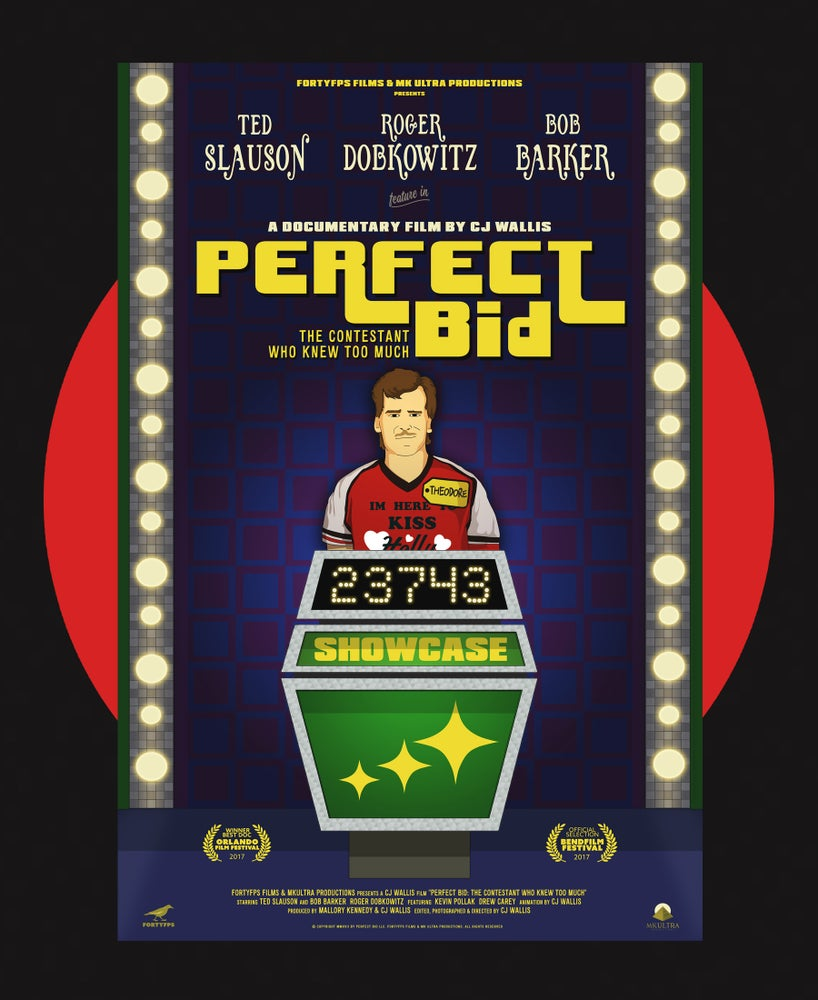 Image of PERFECT BID - OFFICIAL POSTER