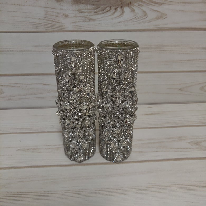 "Image of ""Sharon"" Bling Candle Set"