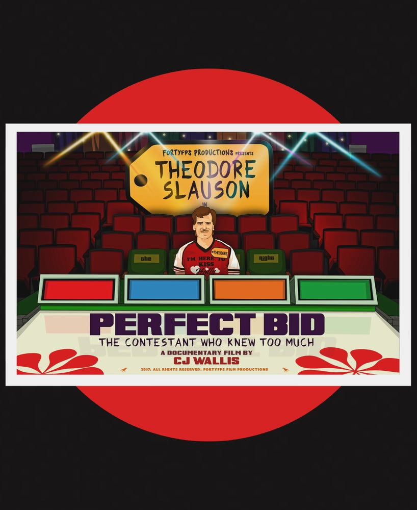 Image of PERFECT BID - TEASER POSTER