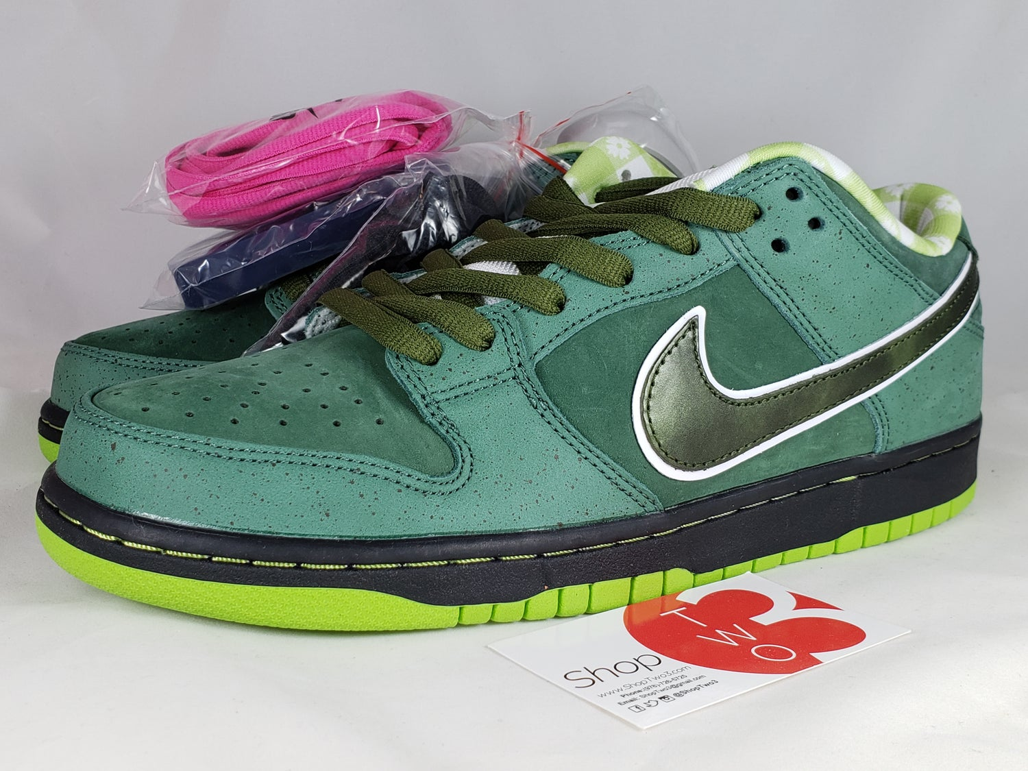 """Image of Nike x Concepts SB Dunk Low """"Green Lobsters"""""""