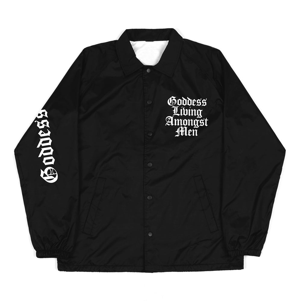 Image of SOLD OUT | BLACK GLAM ALL PURPOSE WINDBREAKER JACKET | EXCLUSIVE RELEASE