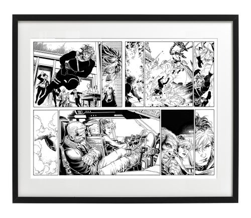 Image of ASTONISHING X-MEN #1 Pages 06/07