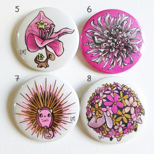 Image of Mini Original Art Button Badges