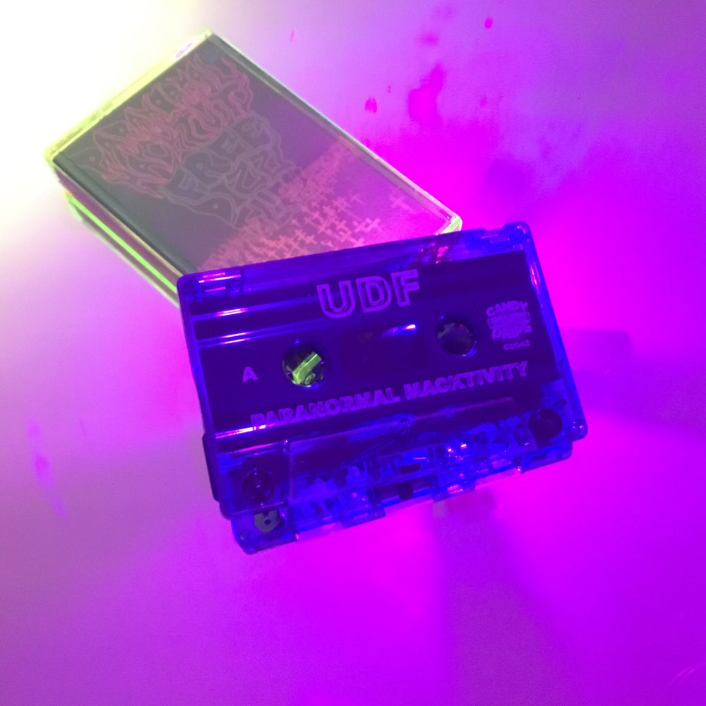 Image of UDF - PARANORMAL MACKTIVITY - CASSETTE TAPE