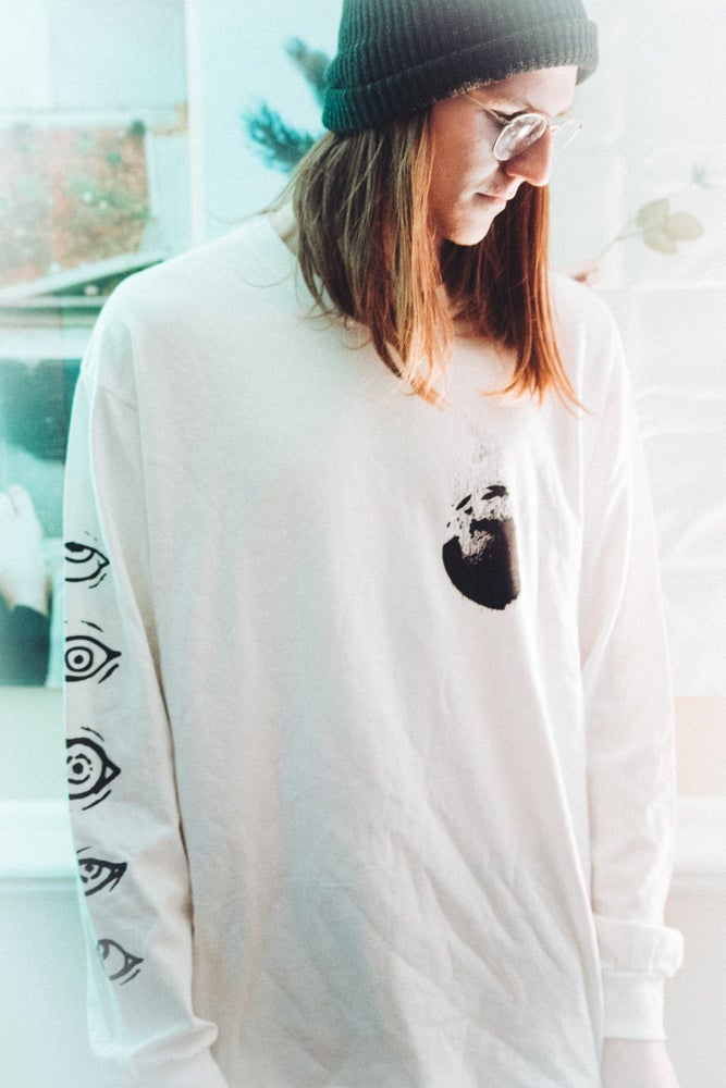 Image of Don't Look At The Sun [White] Longsleeve
