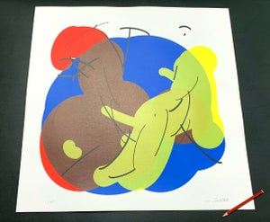Image of Composition with Red Blue and Yellow