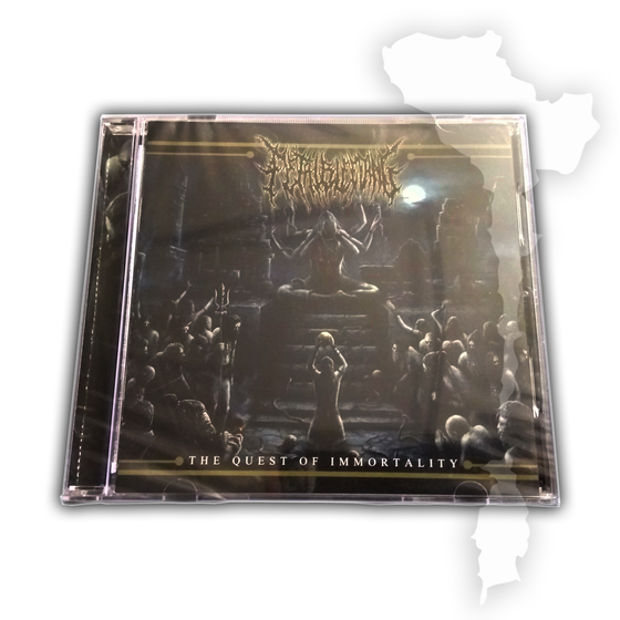 Image of FETAL BLEEDING 'The Quest of Immortality' CD [BRU45]