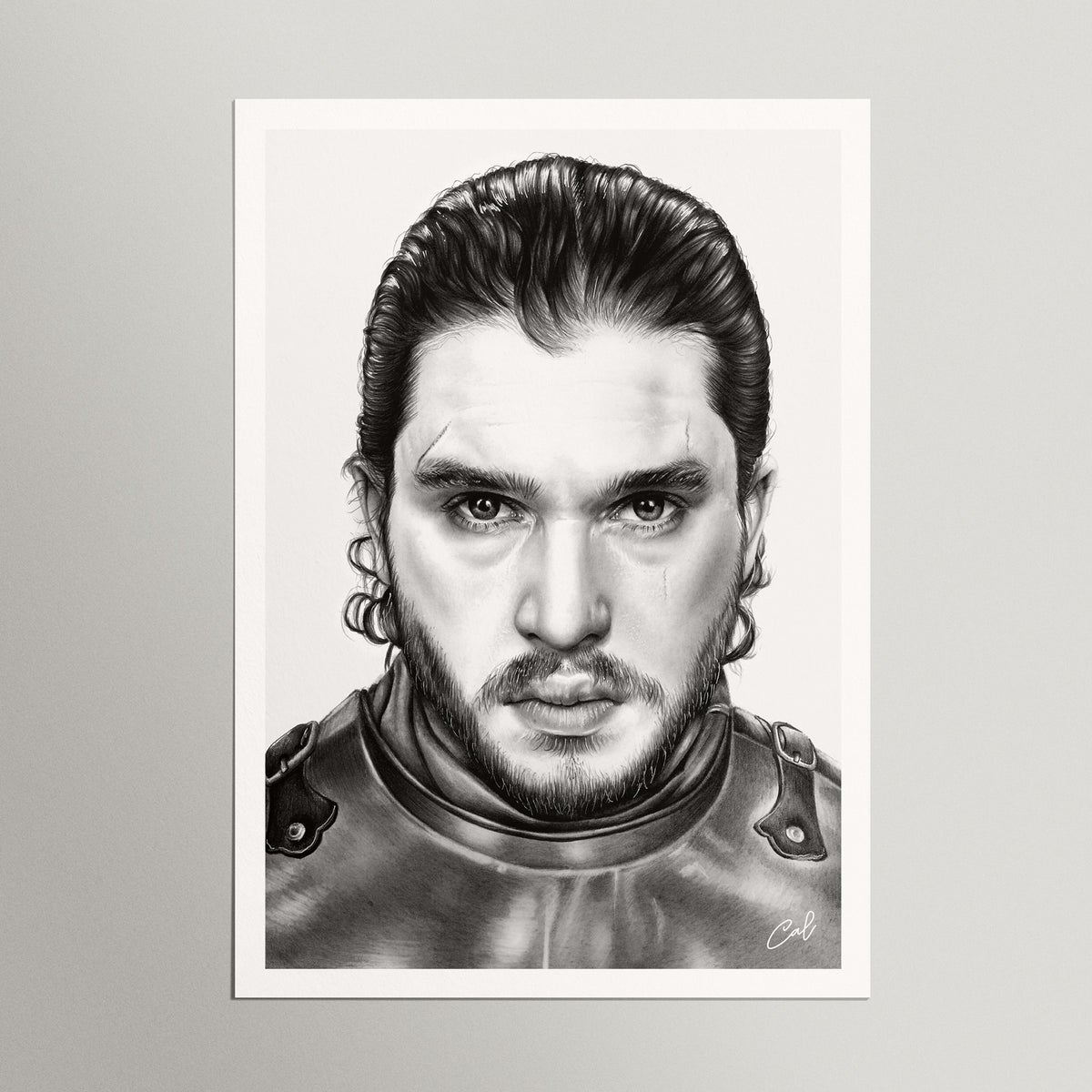 "Image of ""JON SNOW"" - Print"