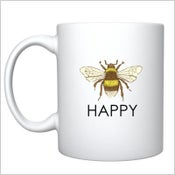 Image of The Bee Happy Mug