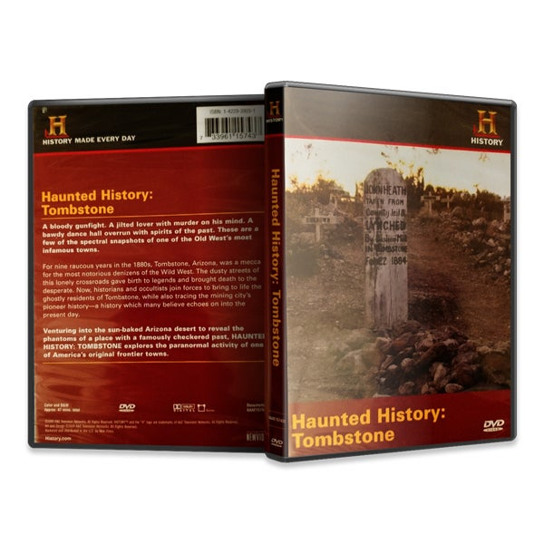 Image of Haunted History: Tombstone (DVD)