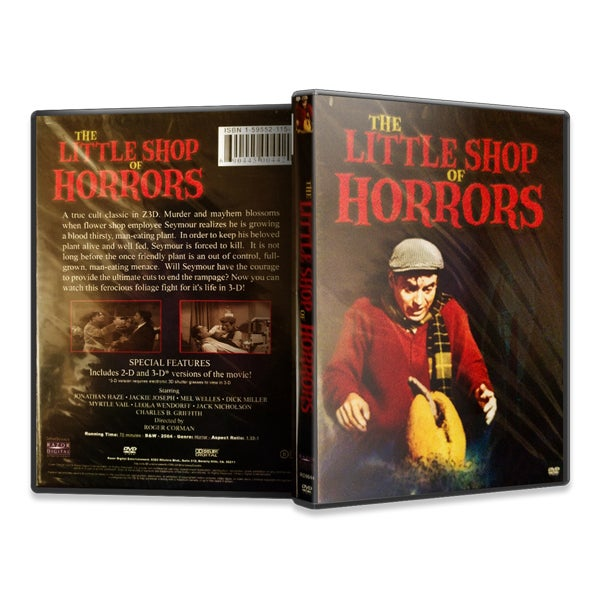 Image of The Little Shop of Horrors (DVD)