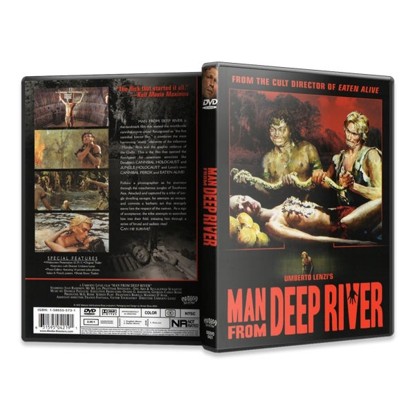 Image of Man From Deep River (DVD)