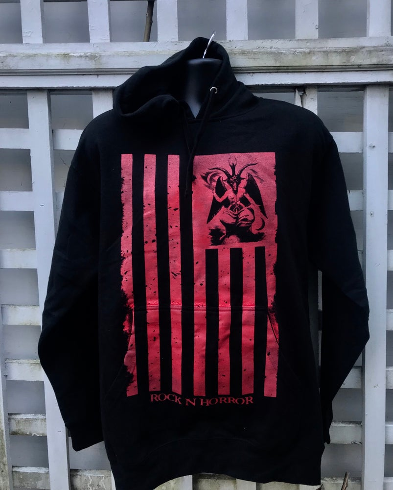 Image of One Nation Under Satan Pullover Hoodie
