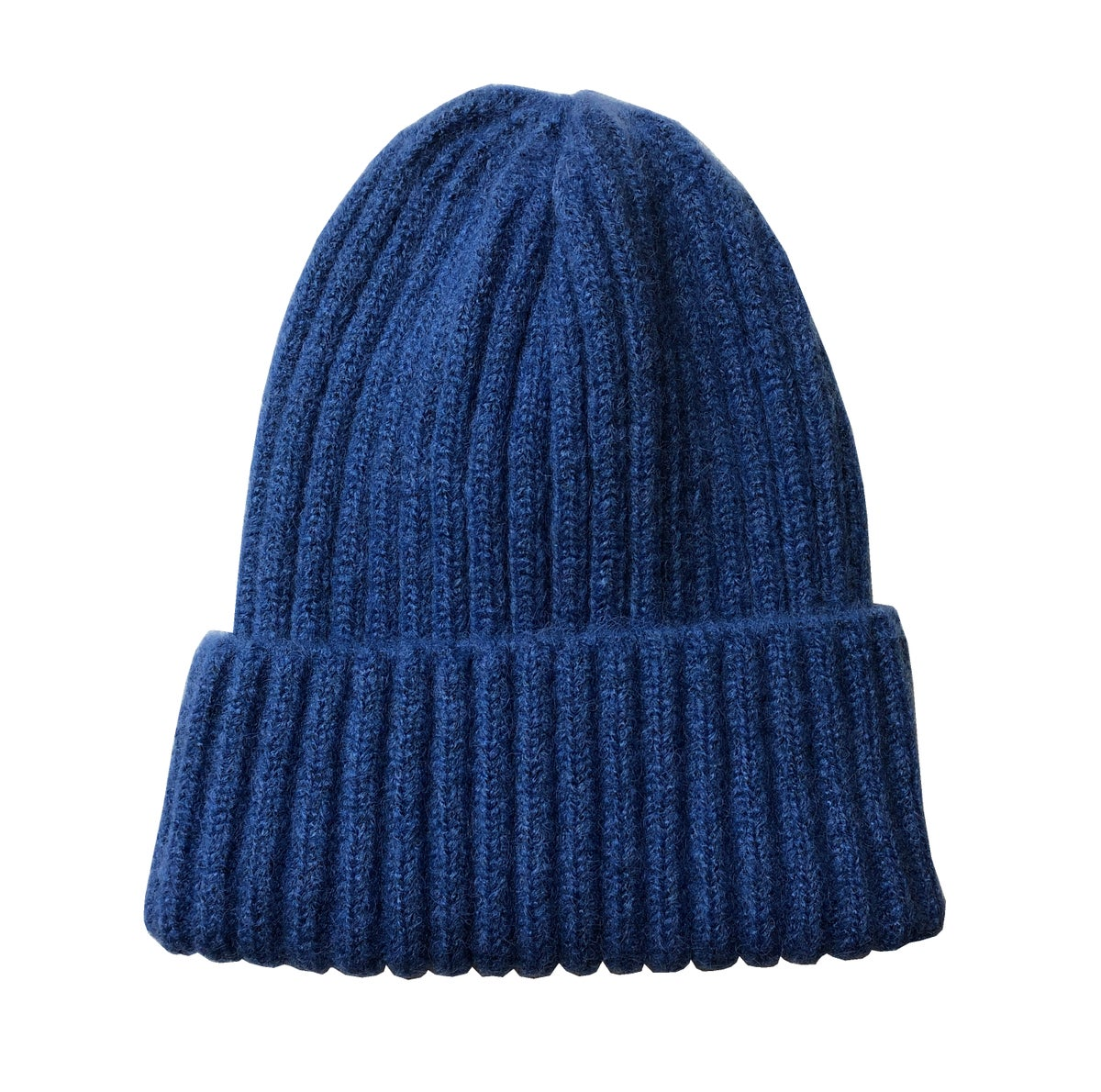 Image of Soft Fisherman's Beanie/ Watch Cap. Blue