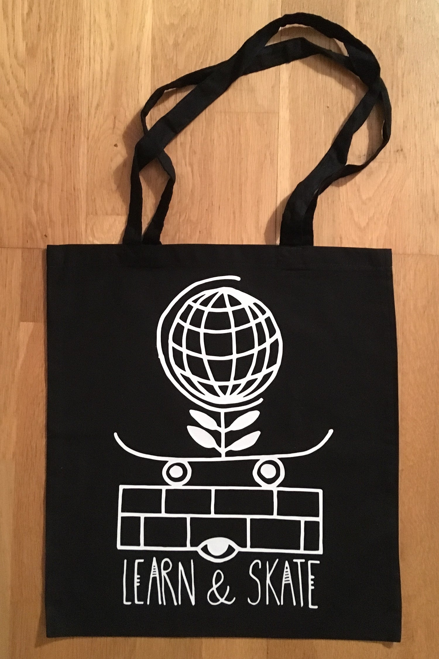 Image of L.A.S Tote bag ( Black )
