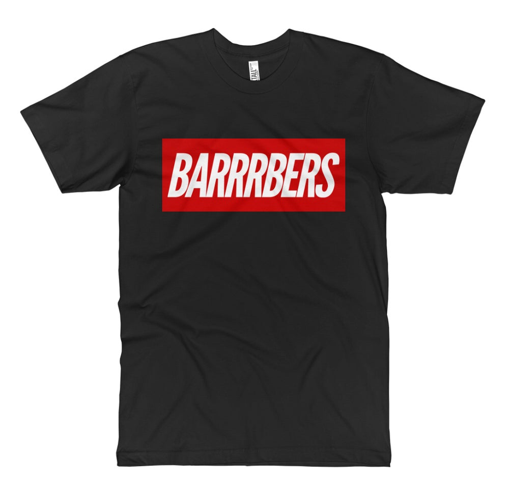 "Image of We Are Supreme ""BARRRBERS"" T-Shirt!"
