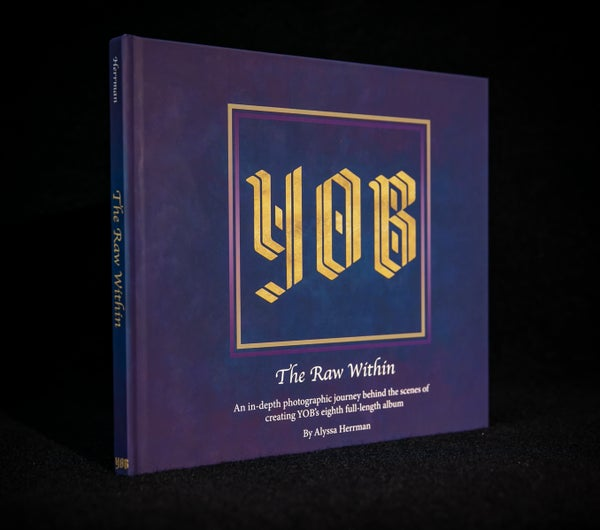 "Image of YOB ""The Raw Within"" Photography Book"