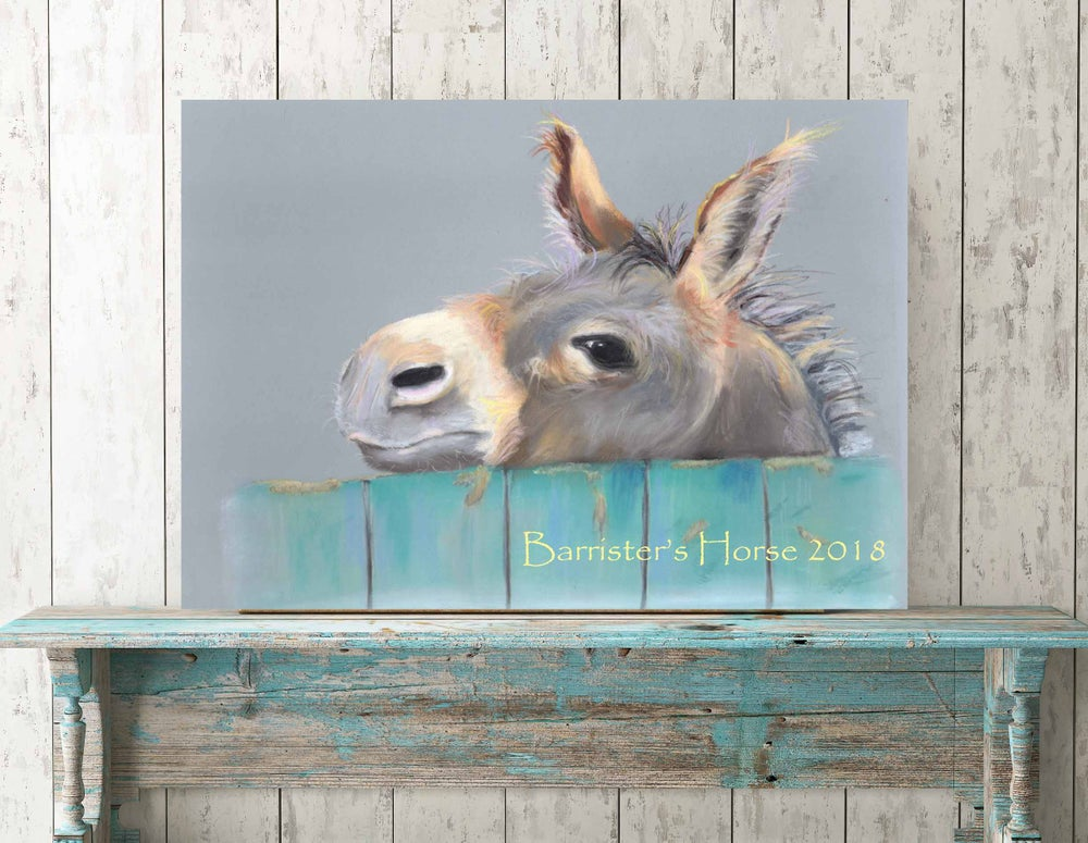 Image of CHEEKY CHARLIE, DONKEY, FINE ART PRINTS