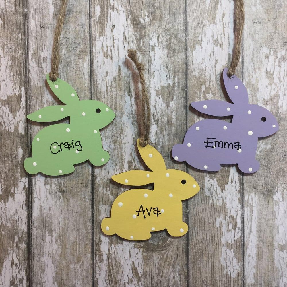 Image of Bunny Decoration (side)