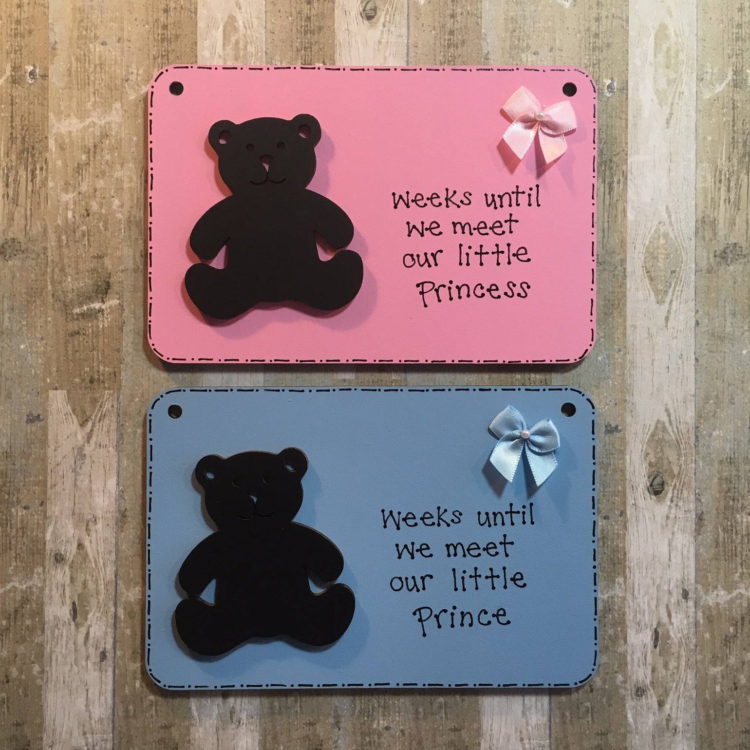 Image of Baby Countdown Plaque