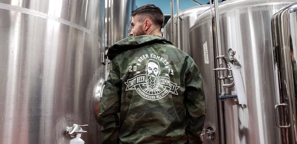 Image of Beer Zombies Windbreakers