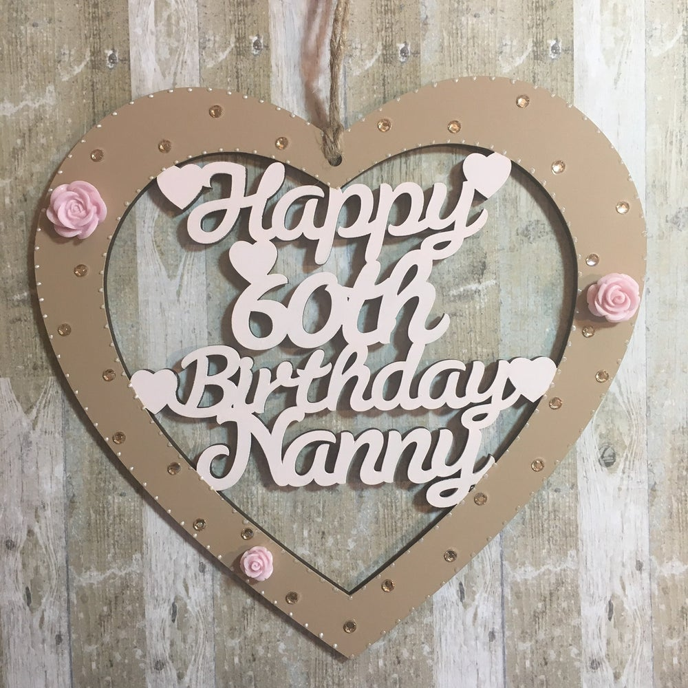 Image of Lasercut Birthday/Anniversary Heart