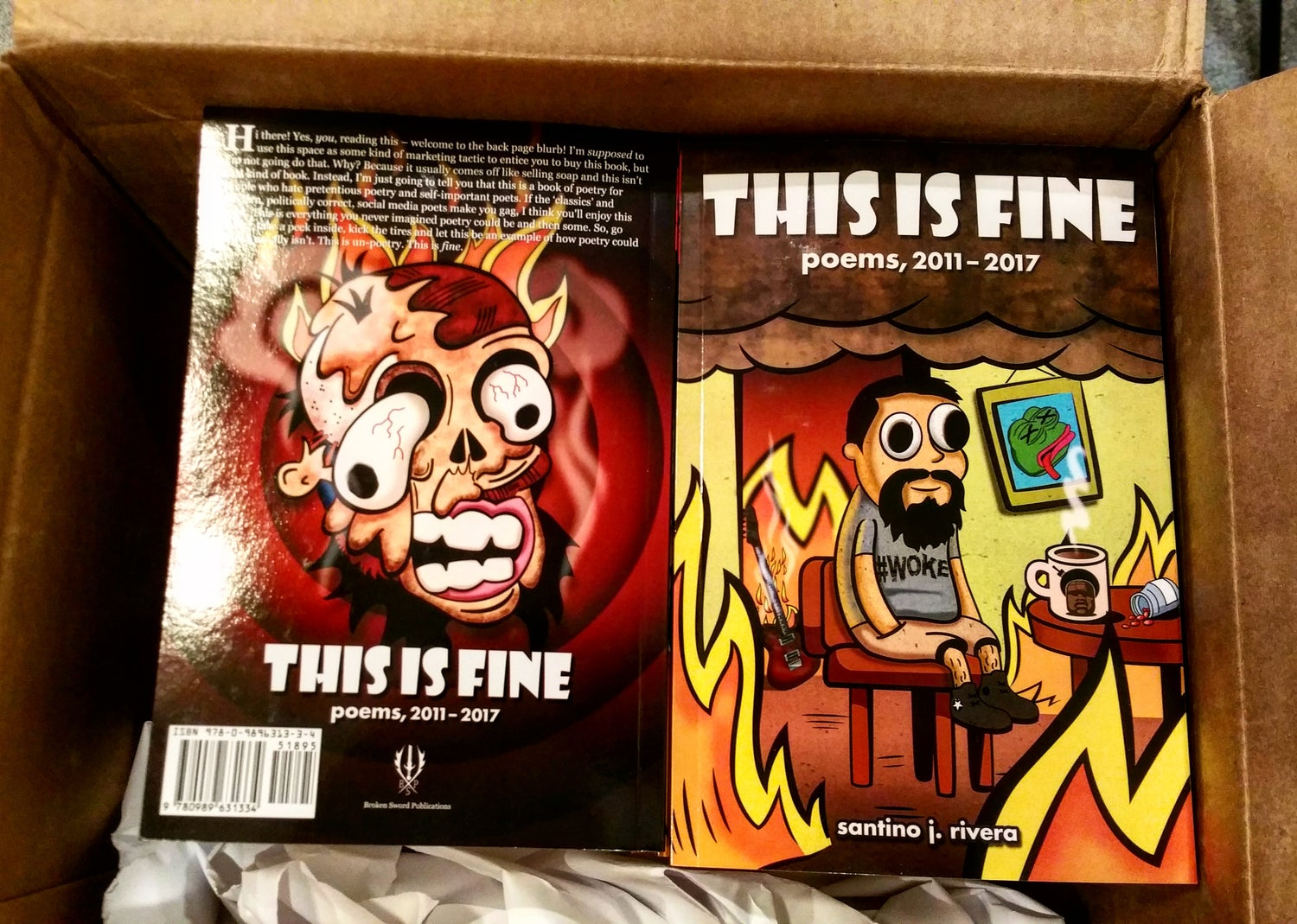 Image of This Is Fine: Poems, 2011 - 2017