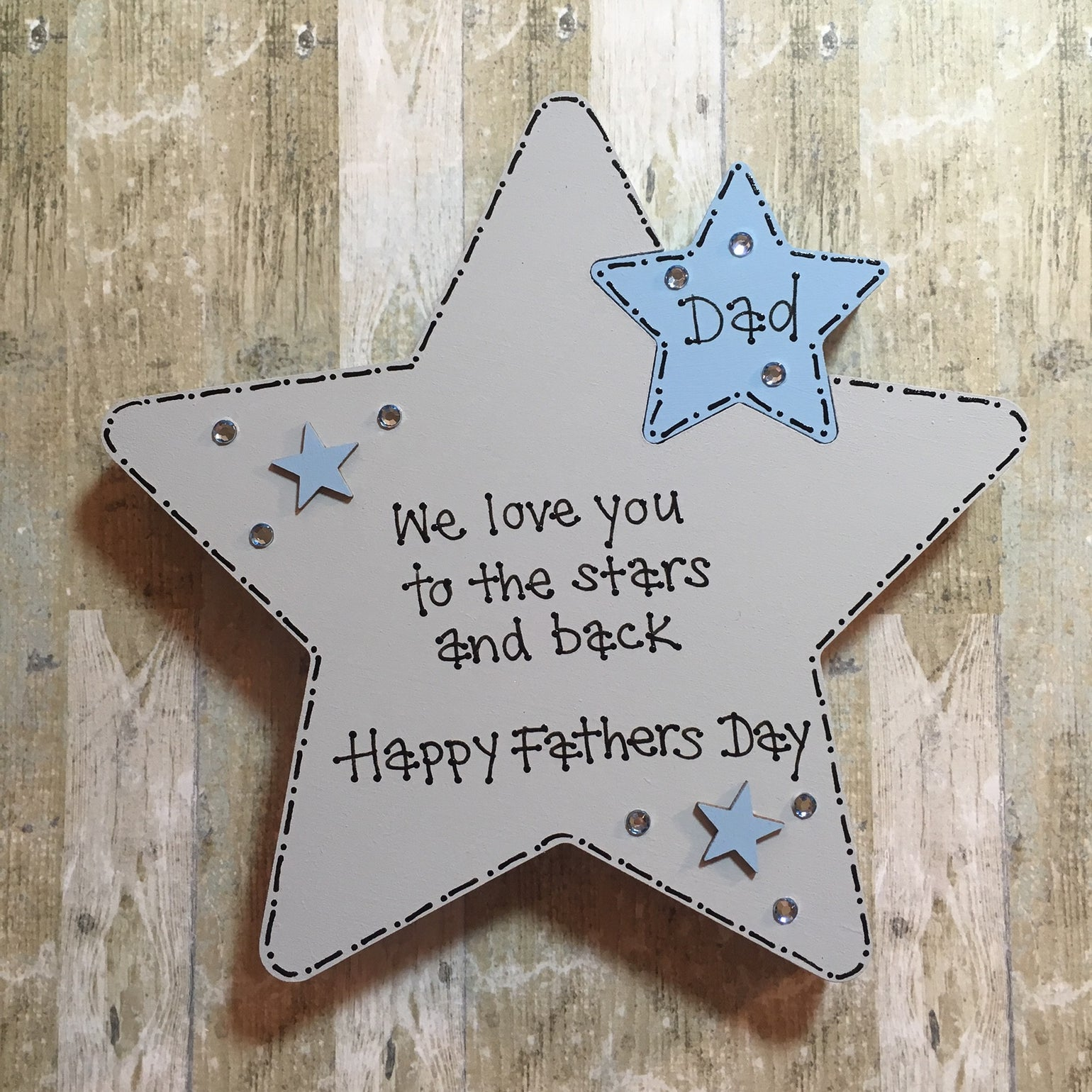 Image of Fathers Day Star