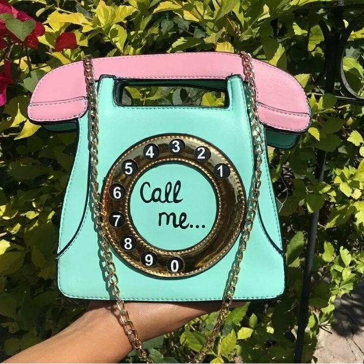 Image of Call Me Telephone Clutch
