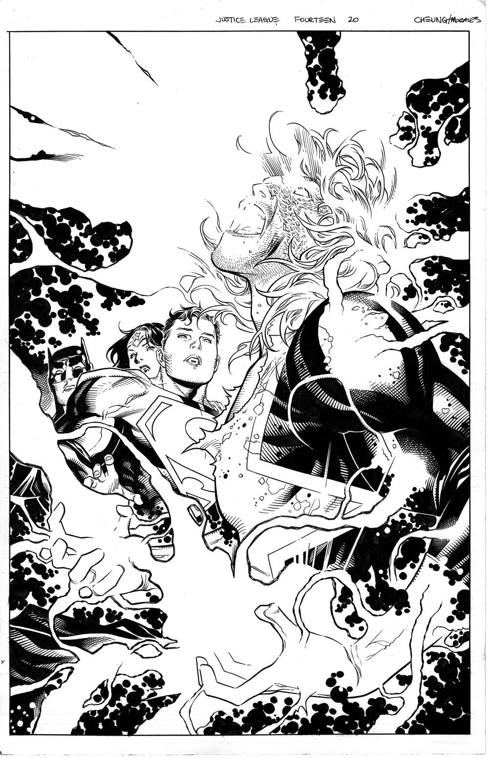 Image of JUSTICE LEAGUE #14_20