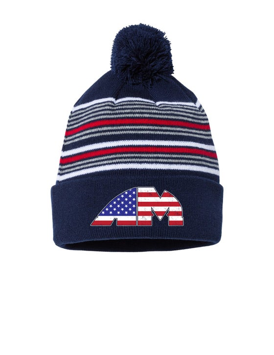 Image of OFFICIAL - AMERICAN MILE - AM LOGO BEANIE