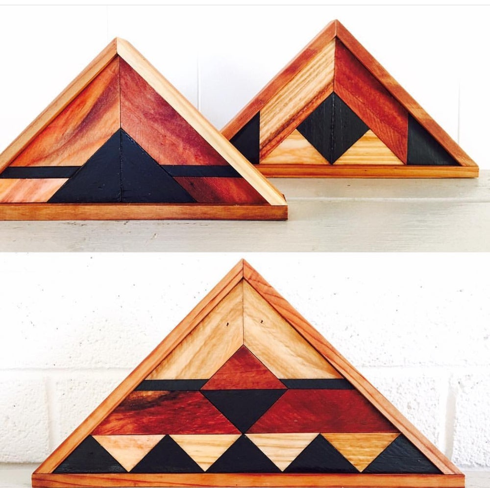 Image of Set of 3 triangles