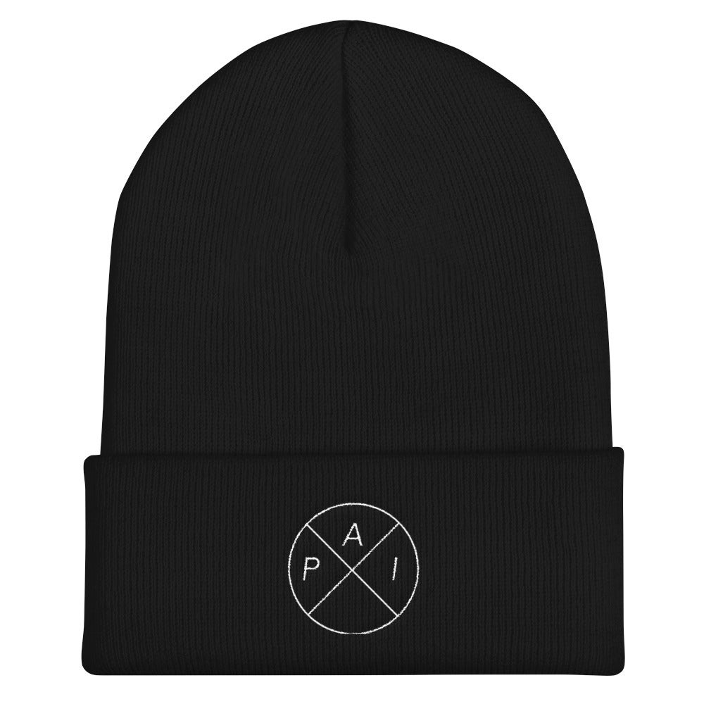 Image of White Accent Beanie