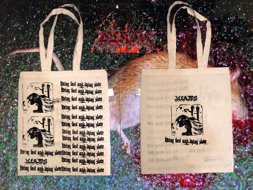 "Image of ""DEAD"" TOTE BAG"