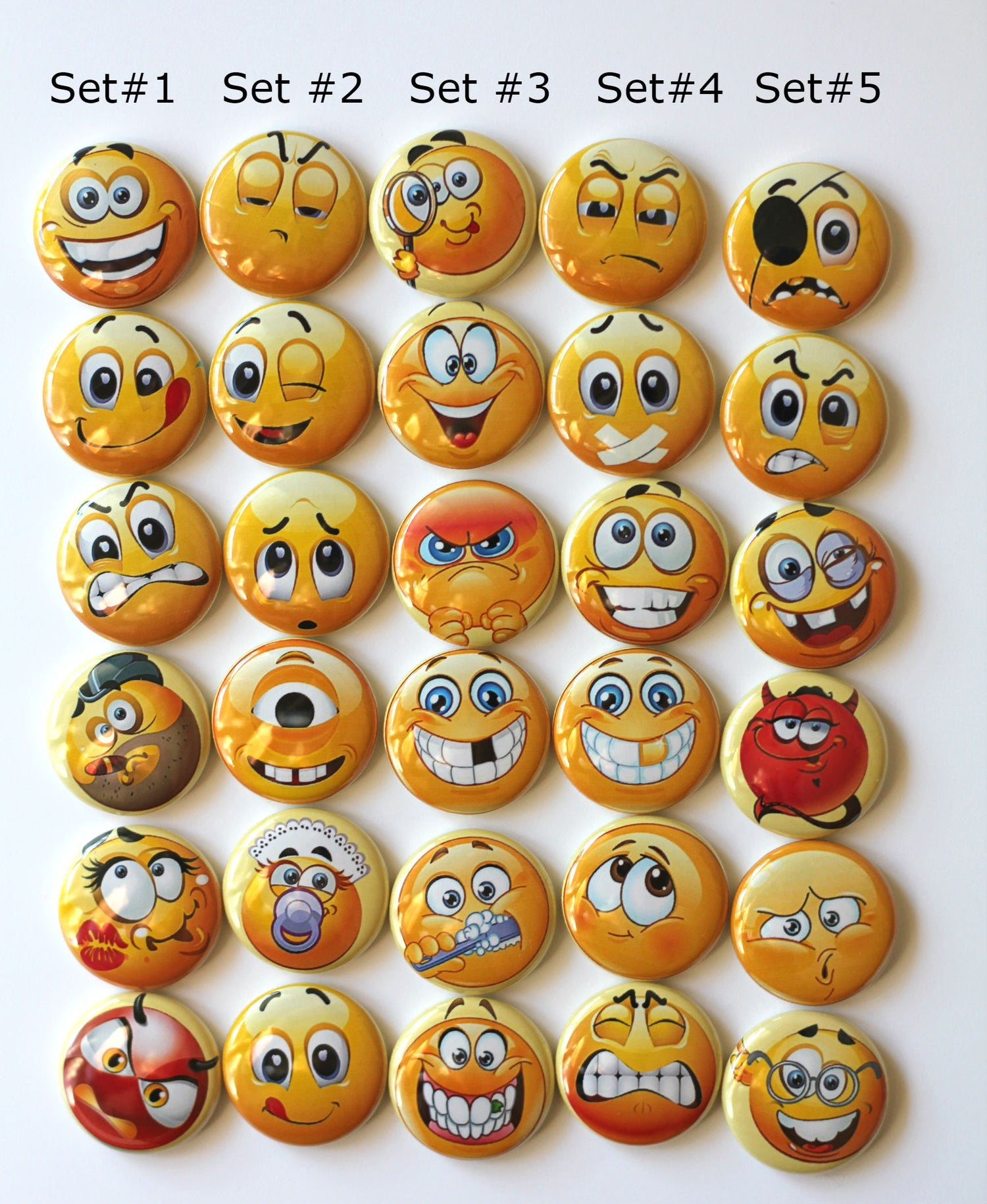 Image of Emoji Flair Buttons