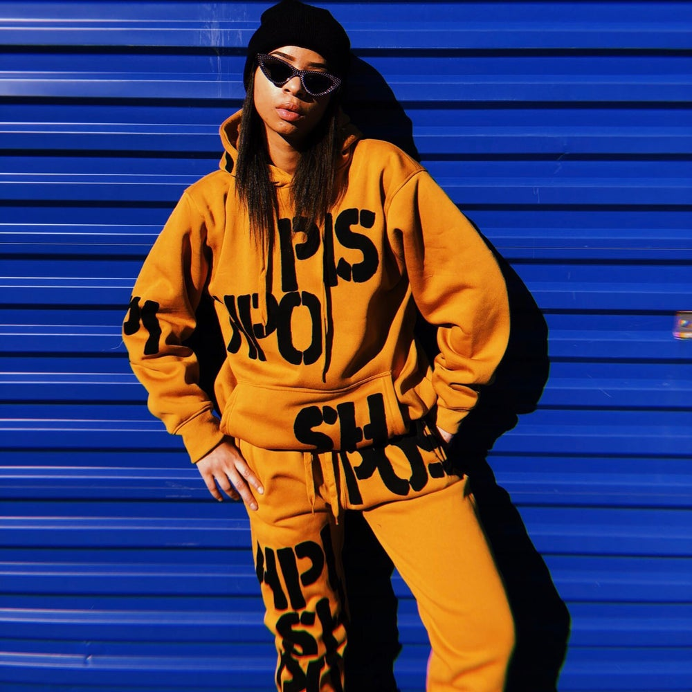 Image of Mustard Sweat Suit