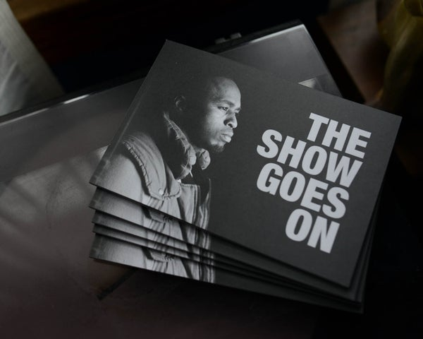 Image of LIMITED EDITON 'The Show Goes On' // ACH photo book