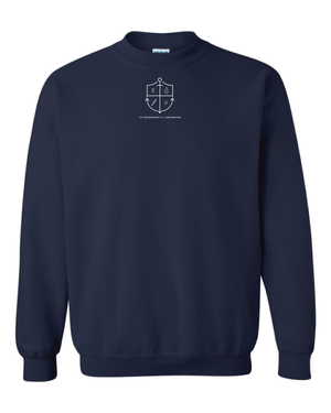 Image of Navy Blue Sweatshirt