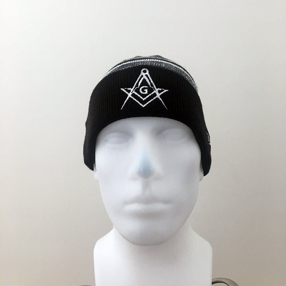 Image of Black Marled Cuff Beanie