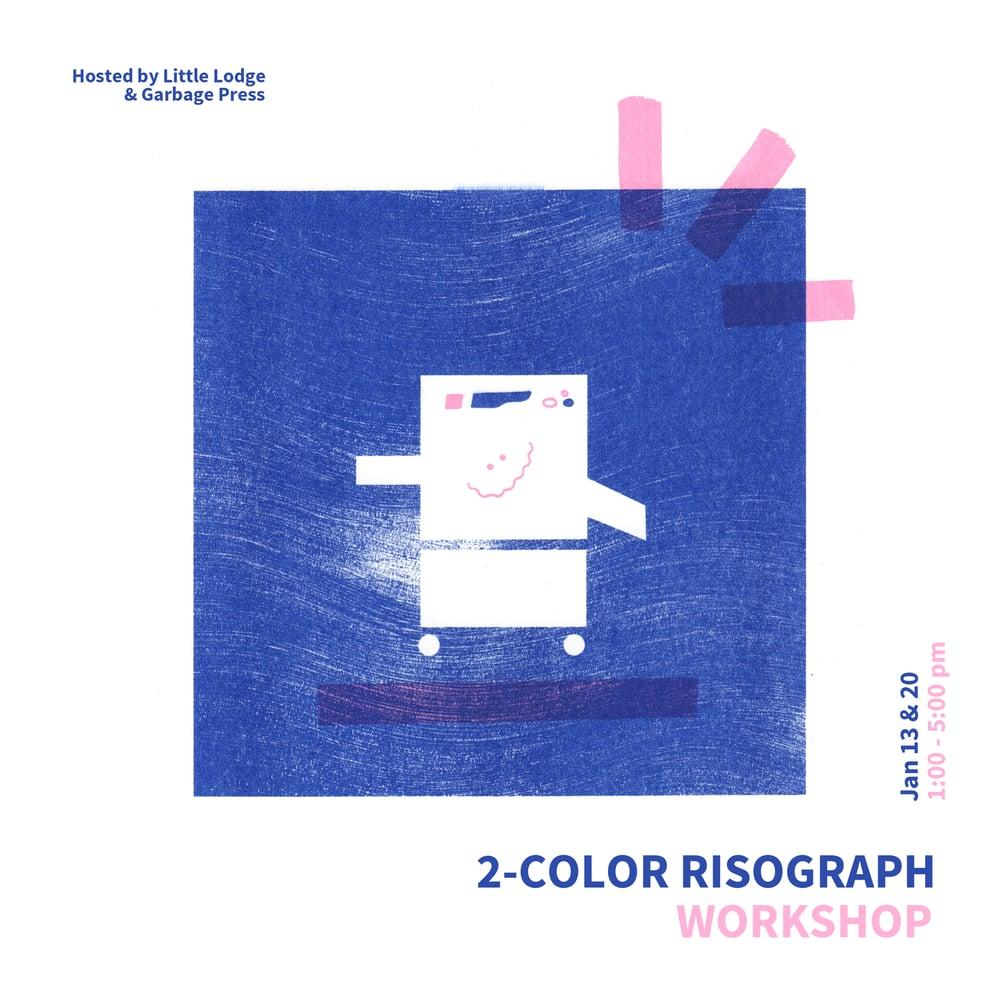 Image of 2-Color Risograph Workshop