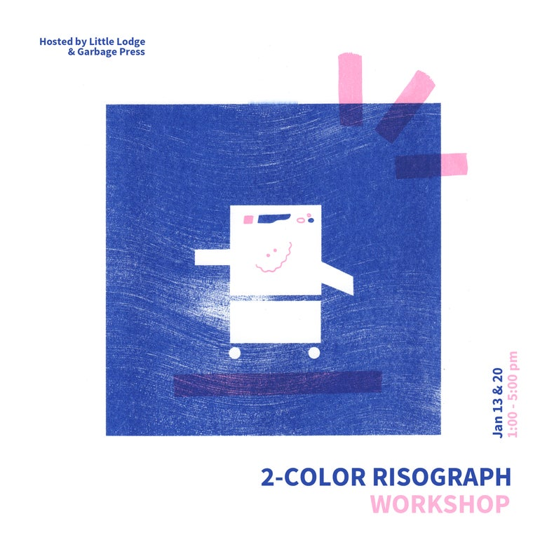 Image of 2-Color Risograph Workshop