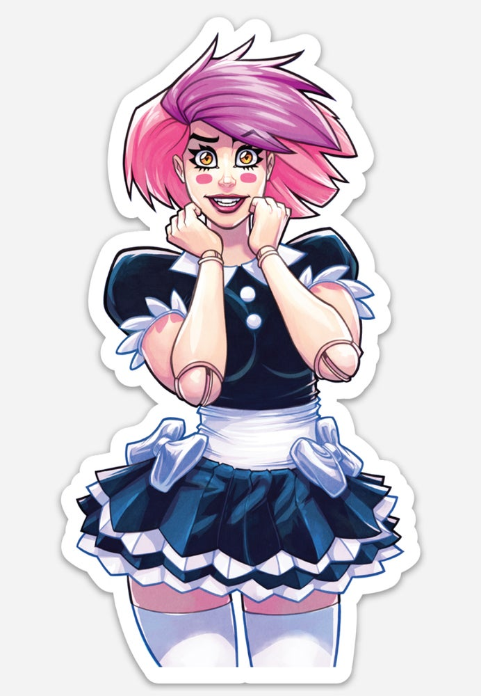 Image of Dollface Die Cut Sticker