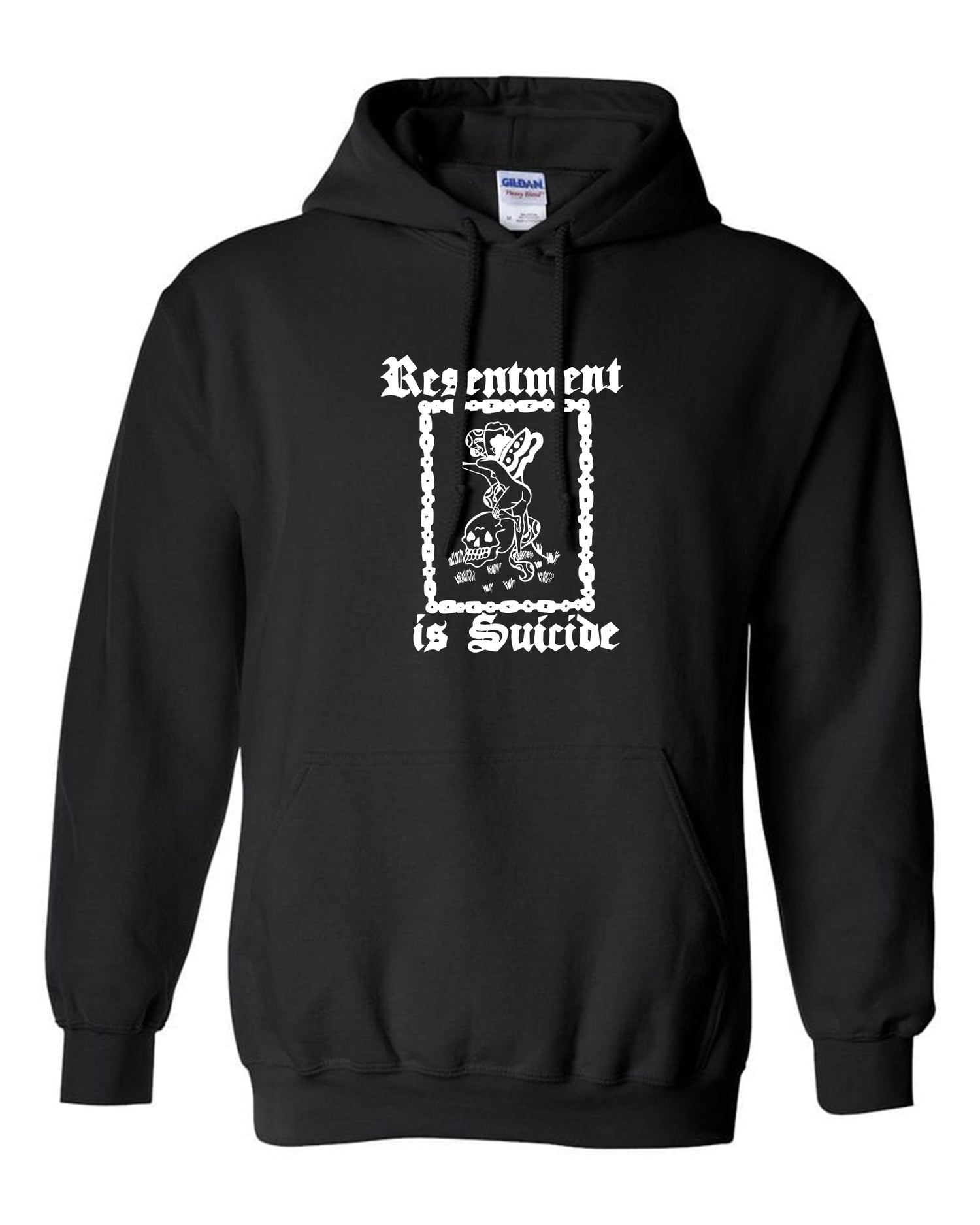 Image of Resentment is Suicide Hoodie