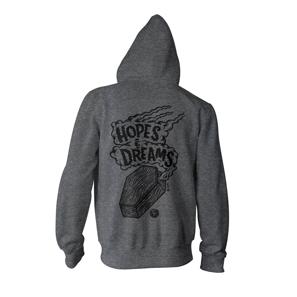 Image of Hopes and Dreams - Zip Hoodie