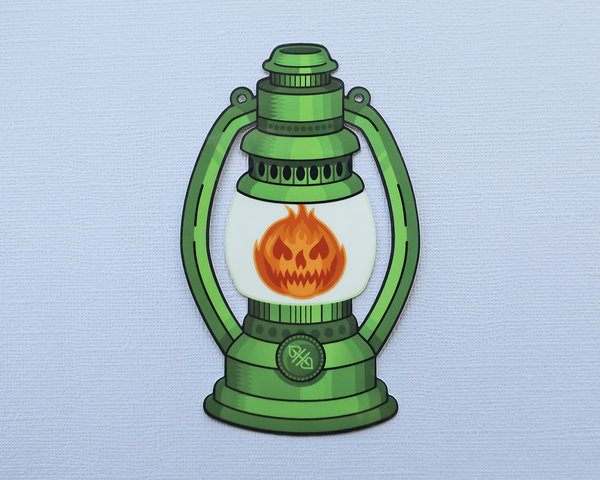 Image of Ghost Lantern Sticker