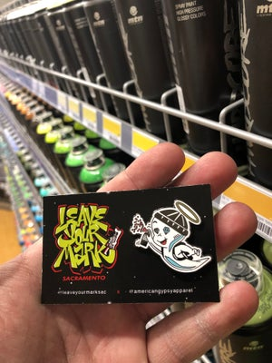 """""""Young Ghost"""" Enamel Pin"""